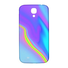 Aurora Color Rainbow Space Blue Sky Purple Yellow Samsung Galaxy S4 I9500/i9505  Hardshell Back Case by Mariart