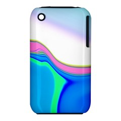 Aurora Color Rainbow Space Blue Sky Purple Yellow Green Iphone 3s/3gs by Mariart