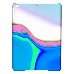 Aurora Color Rainbow Space Blue Sky Purple Yellow Green Ipad Air Hardshell Cases by Mariart