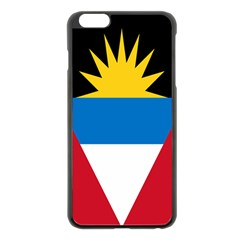 Banner Flag Sun Line Chevron Red White Black Blue Apple Iphone 6 Plus/6s Plus Black Enamel Case by Mariart