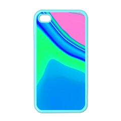 Aurora Color Rainbow Space Blue Sky Apple Iphone 4 Case (color) by Mariart