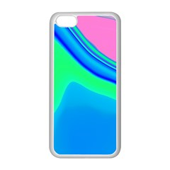 Aurora Color Rainbow Space Blue Sky Apple Iphone 5c Seamless Case (white) by Mariart