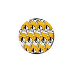 Animals Cat Dog Dalmation Golf Ball Marker (10 Pack) by Mariart