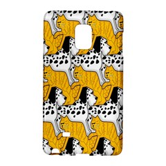 Animals Cat Dog Dalmation Galaxy Note Edge by Mariart