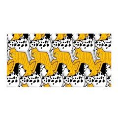 Animals Cat Dog Dalmation Satin Wrap by Mariart