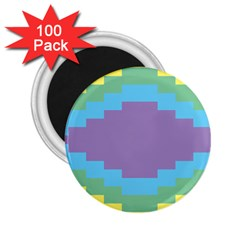 Carmigender Flags Rainbow 2 25  Magnets (100 Pack)  by Mariart