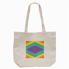 Carmigender Flags Rainbow Tote Bag (cream) by Mariart