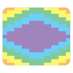 Carmigender Flags Rainbow Double Sided Flano Blanket (small)  by Mariart