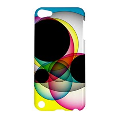 Apollonius Color Multi Circle Polkadot Apple Ipod Touch 5 Hardshell Case by Mariart
