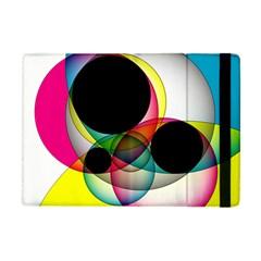Apollonius Color Multi Circle Polkadot Apple Ipad Mini Flip Case by Mariart