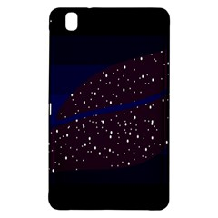 Contigender Flags Star Polka Space Blue Sky Black Brown Samsung Galaxy Tab Pro 8 4 Hardshell Case by Mariart