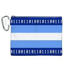 Digigender Cute Gender Gendercute Flags Canvas Cosmetic Bag (xl) by Mariart
