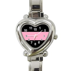 Domgirl Playgirl Heart Italian Charm Watch by Mariart