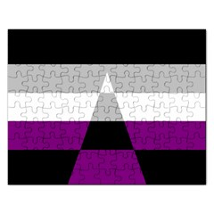 Dissexual Flag Rectangular Jigsaw Puzzl by Mariart