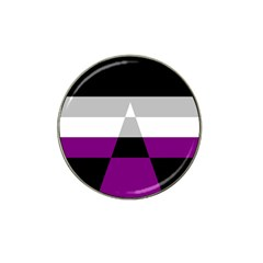 Dissexual Flag Hat Clip Ball Marker by Mariart