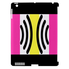 Echogender Flags Dahsfiq Echo Gender Apple Ipad 3/4 Hardshell Case (compatible With Smart Cover) by Mariart