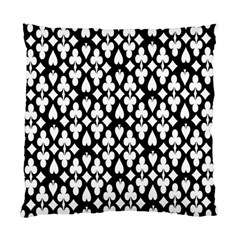 Dark Horse Playing Card Black White Standard Cushion Case (one Side) by Mariart