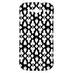 Dark Horse Playing Card Black White Samsung Galaxy S3 S Iii Classic Hardshell Back Case by Mariart