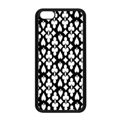 Dark Horse Playing Card Black White Apple Iphone 5c Seamless Case (black) by Mariart