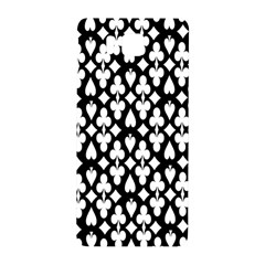 Dark Horse Playing Card Black White Samsung Galaxy Alpha Hardshell Back Case by Mariart