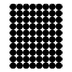 Dotted Pattern Png Dots Square Grid Abuse Black Shower Curtain 60  X 72  (medium)  by Mariart