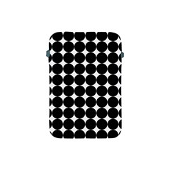 Dotted Pattern Png Dots Square Grid Abuse Black Apple Ipad Mini Protective Soft Cases by Mariart