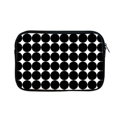 Dotted Pattern Png Dots Square Grid Abuse Black Apple Ipad Mini Zipper Cases by Mariart