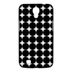 Dotted Pattern Png Dots Square Grid Abuse Black Samsung Galaxy Mega 6 3  I9200 Hardshell Case by Mariart