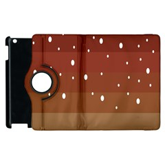 Fawn Gender Flags Polka Space Brown Apple Ipad 3/4 Flip 360 Case by Mariart