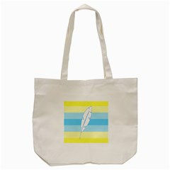 Feather Flags Tote Bag (cream) by Mariart
