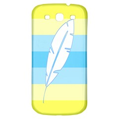Feather Flags Samsung Galaxy S3 S Iii Classic Hardshell Back Case by Mariart