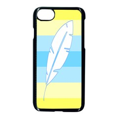 Feather Flags Apple Iphone 7 Seamless Case (black) by Mariart