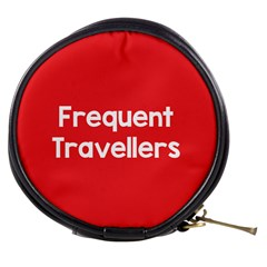Frequent Travellers Red Mini Makeup Bags by Mariart