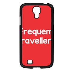 Frequent Travellers Red Samsung Galaxy S4 I9500/ I9505 Case (black) by Mariart