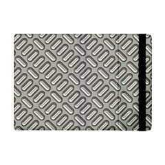 Capsul Another Grey Diamond Metal Texture Ipad Mini 2 Flip Cases by Mariart