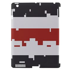 Girl Flags Plaid Red Black Apple Ipad 3/4 Hardshell Case (compatible With Smart Cover) by Mariart