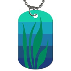 Gender Sea Flags Leaf Dog Tag (two Sides) by Mariart