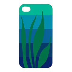 Gender Sea Flags Leaf Apple Iphone 4/4s Hardshell Case by Mariart