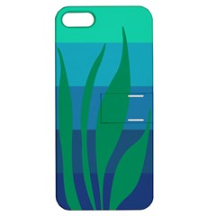 Gender Sea Flags Leaf Apple Iphone 5 Hardshell Case With Stand by Mariart
