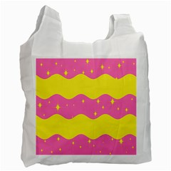Glimra Gender Flags Star Space Recycle Bag (two Side)  by Mariart
