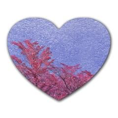 Fantasy Landscape Theme Poster Heart Mousepads by dflcprints