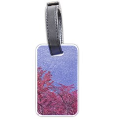 Fantasy Landscape Theme Poster Luggage Tags (one Side)  by dflcprints