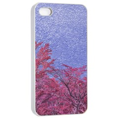 Fantasy Landscape Theme Poster Apple Iphone 4/4s Seamless Case (white) by dflcprints