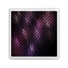 Light Lines Purple Black Memory Card Reader (square)  by Mariart