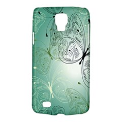 Glass Splashback Abstract Pattern Butterfly Galaxy S4 Active by Mariart