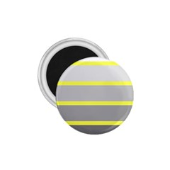 Molly Gender Line Flag Yellow Grey 1 75  Magnets by Mariart