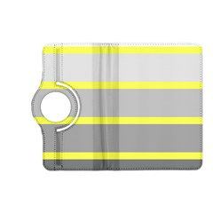 Molly Gender Line Flag Yellow Grey Kindle Fire Hd (2013) Flip 360 Case by Mariart
