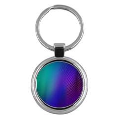 Galaxy Blue Purple Key Chains (round)  by Mariart