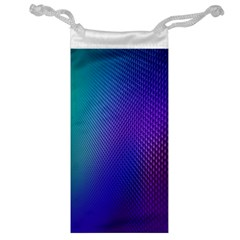 Galaxy Blue Purple Jewelry Bag by Mariart