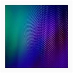 Galaxy Blue Purple Medium Glasses Cloth (2 Side) by Mariart